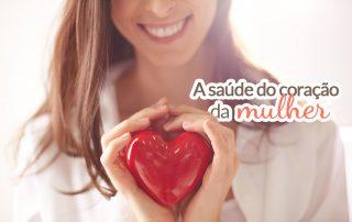 A saúde do coração da mulher