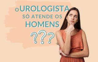 O urologista atende mulher